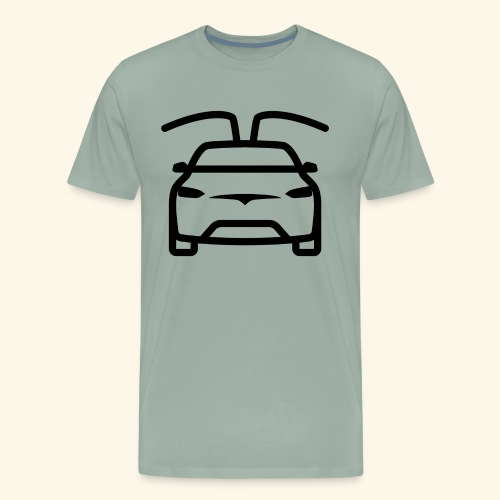 Tesla #1 - Men's Premium T-Shirt