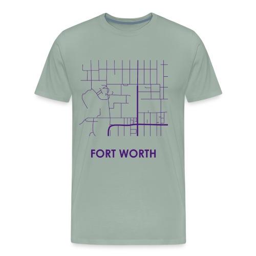 Fort Worth Streets - Men's Premium T-Shirt