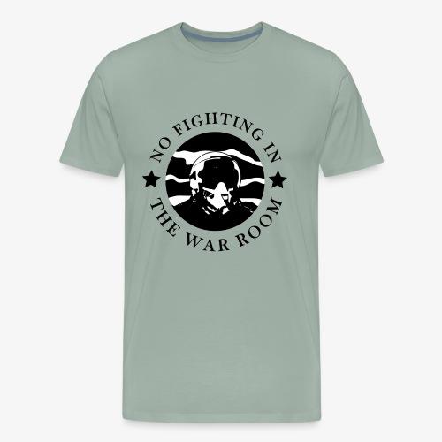 The War Room Motto - Pilot - Men's Premium T-Shirt
