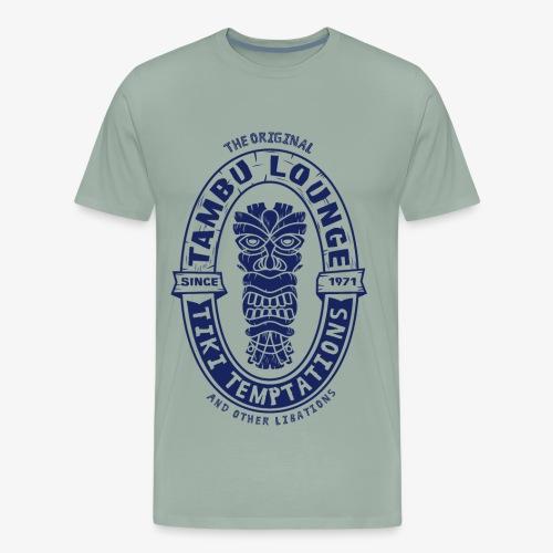 Tambu Temptation (Blue) - Men's Premium T-Shirt