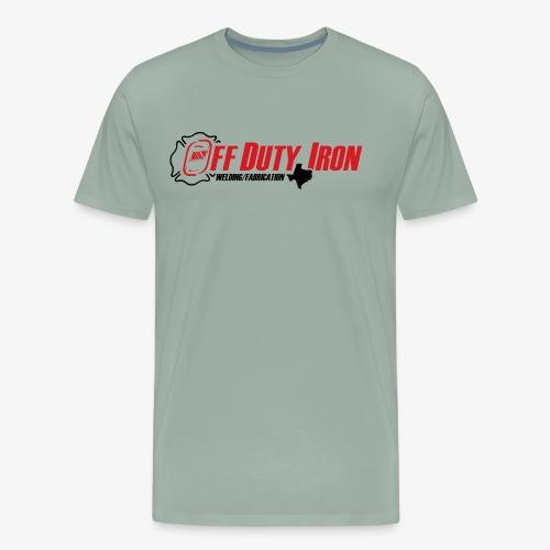 Off Duty Iron - Men's Premium T-Shirt