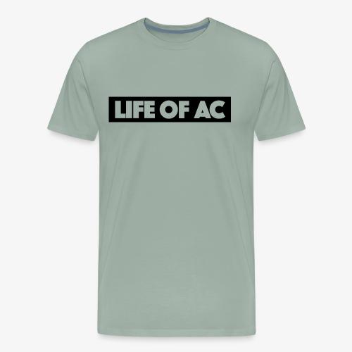 Cut Out | Life Of AC - Men's Premium T-Shirt