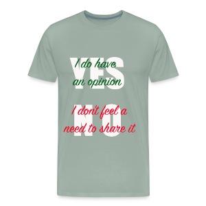 yesno - Men's Premium T-Shirt