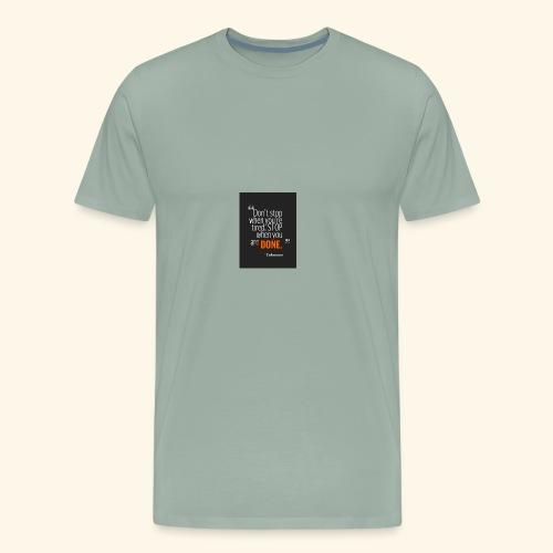 Dont stop - Men's Premium T-Shirt