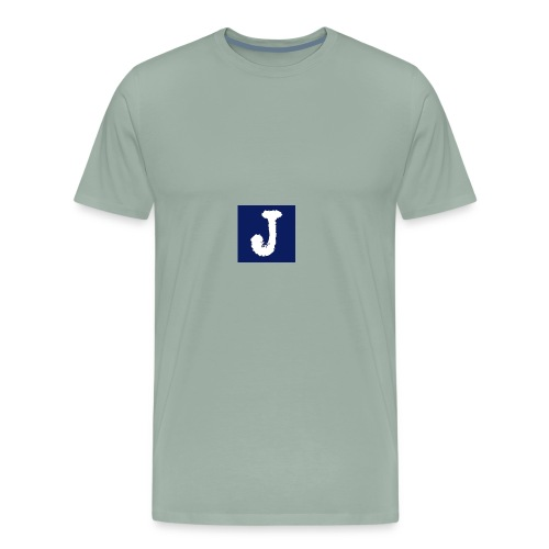 j logo big - Men's Premium T-Shirt