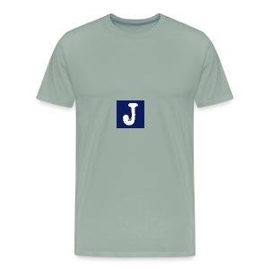 j logo big - Men's Premium T-Shirt
