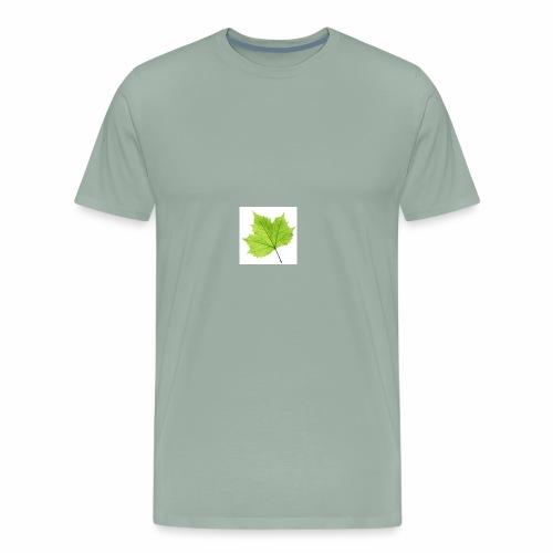 Leaf symbol - Men's Premium T-Shirt