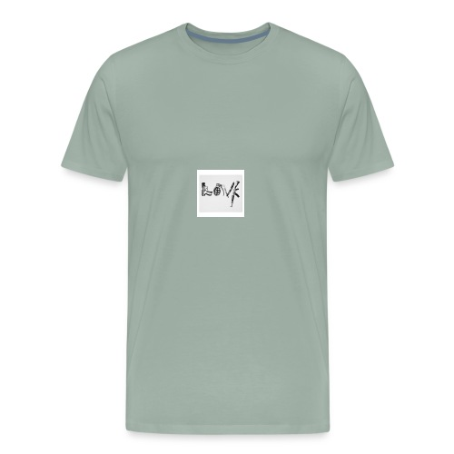 Real love - Men's Premium T-Shirt