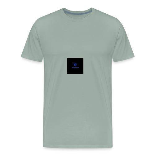 dtray fits logo design - Men's Premium T-Shirt
