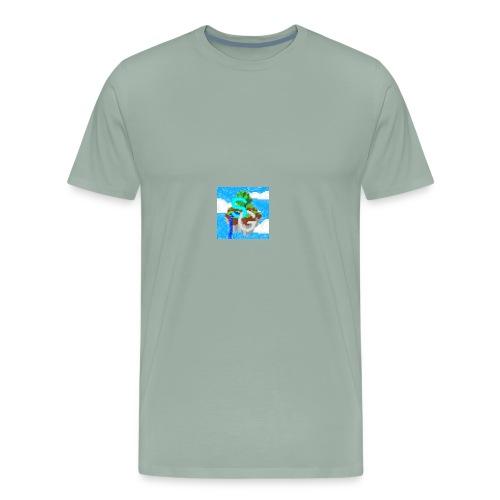 SkyGames Logo RETRO - Men's Premium T-Shirt