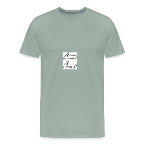 conectores vector musica - Men's Premium T-Shirt