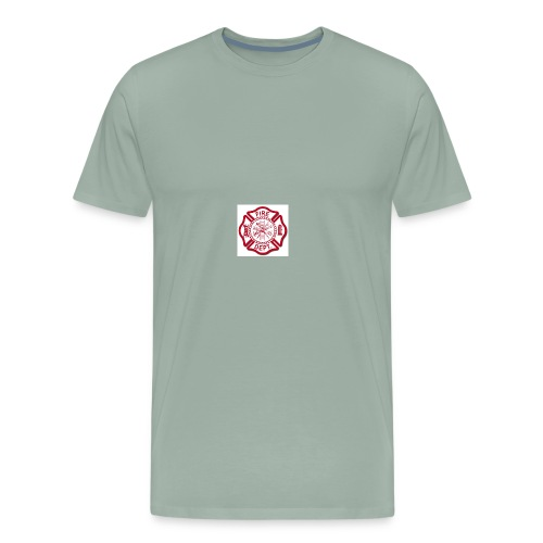 fire dept - Men's Premium T-Shirt