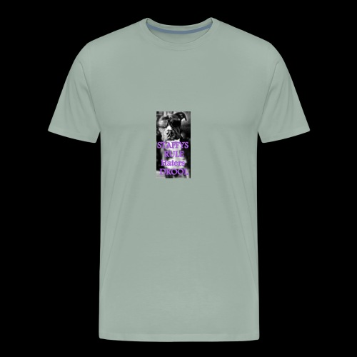 HATERS DROOL! - Men's Premium T-Shirt