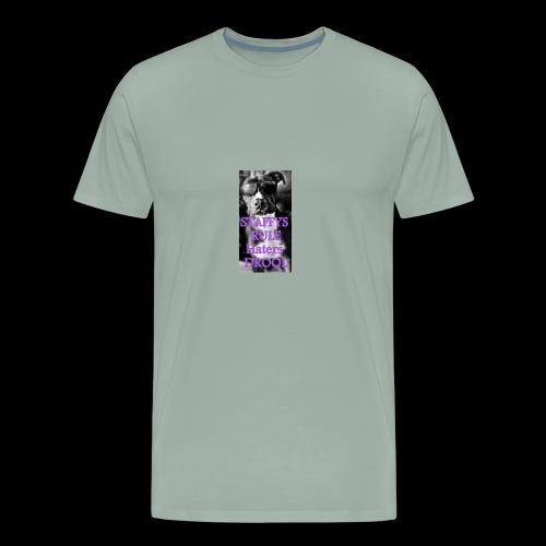 HATERS DROOL - Men's Premium T-Shirt