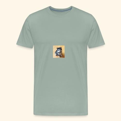 822F4DCB 7053 40BA 8E9C 7222EE84A8AF - Men's Premium T-Shirt