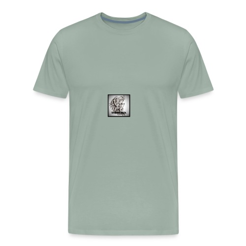 guardian angel tattoo s - Men's Premium T-Shirt