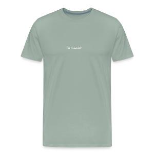 no laughter type - Men's Premium T-Shirt