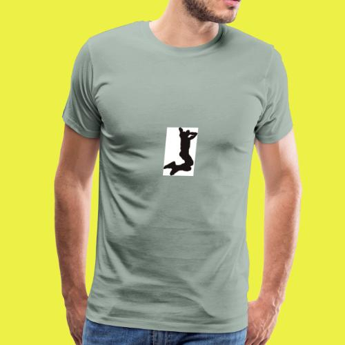 Rise up to the top Logo - Men's Premium T-Shirt