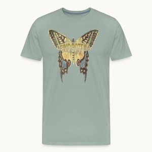 BUTTERFLY-LEPIDOPTERA-PASTEL-Carolyn Sandstrom - Men's Premium T-Shirt