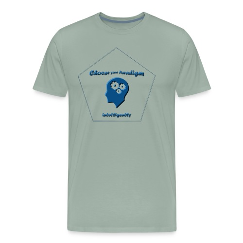 Choose your paradigm intelligently - Men's Premium T-Shirt