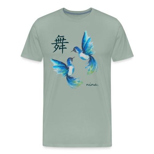 Hummingbirds - Men's Premium T-Shirt