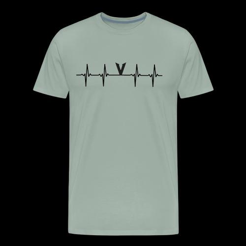 V EKG - Men's Premium T-Shirt