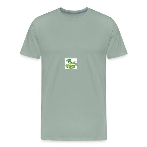 Cartoon snake - Men's Premium T-Shirt