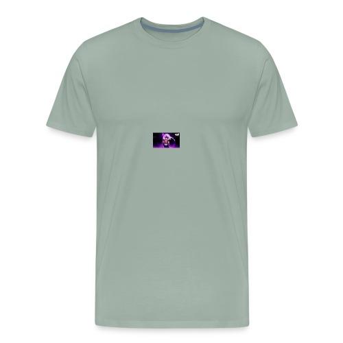 night time fire - Men's Premium T-Shirt