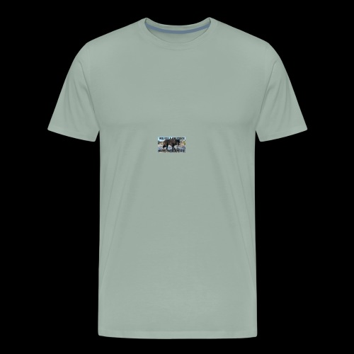 wolves and wolfdogs are not pets - Men's Premium T-Shirt