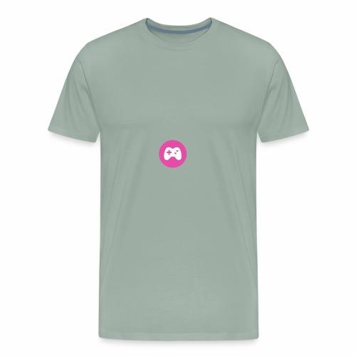 select player girl world - Men's Premium T-Shirt