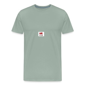 love heart talk - Men's Premium T-Shirt