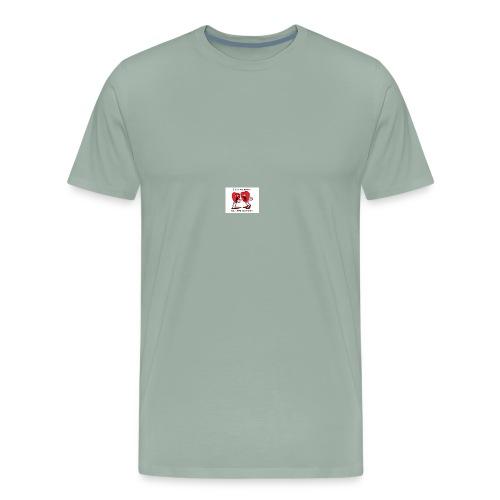 love heart talk - Men's Premium T-Shirt
