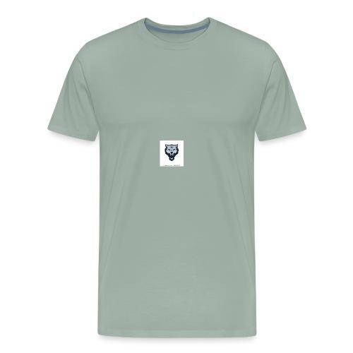 wolf vector logoicon illustration mascot 260nw 100 - Men's Premium T-Shirt