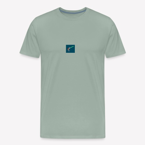jedi narwhal - Men's Premium T-Shirt