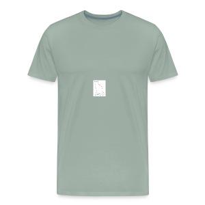 pink womens cat shirt - Men's Premium T-Shirt