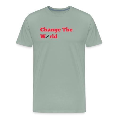 Change The World Falcon Shirt - Men's Premium T-Shirt