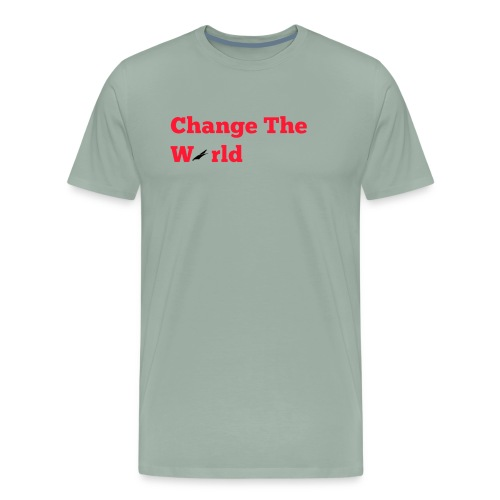 Change The World Falcon Shirt - Men's Premium T-Shirt