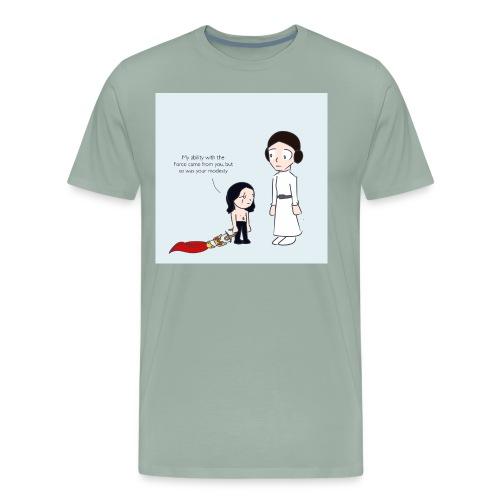 Modesty - Men's Premium T-Shirt