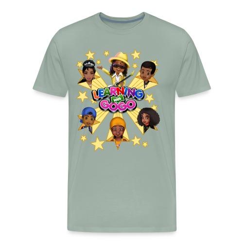 Learning With GoGo Model #6301 - Men's Premium T-Shirt