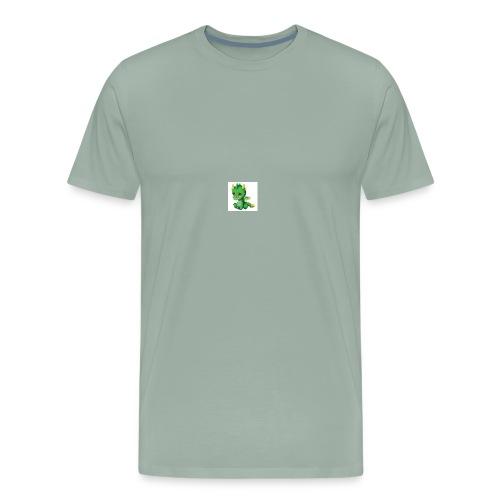 Sad Cartoon Dragon - Men's Premium T-Shirt