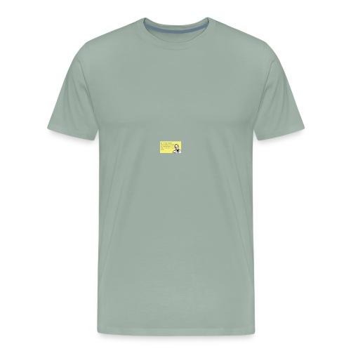 no run family - Men's Premium T-Shirt