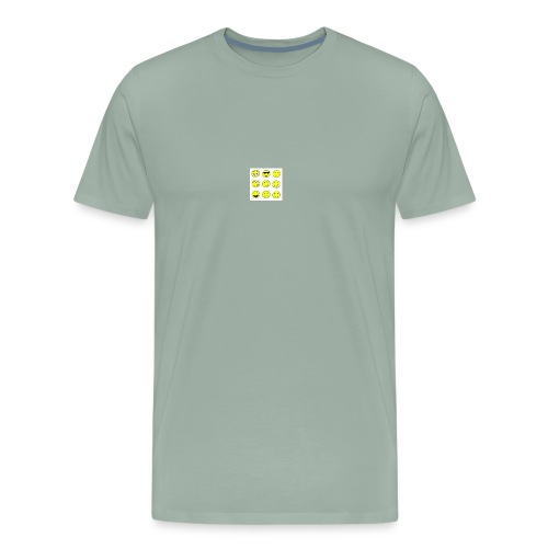 happy faces - Men's Premium T-Shirt