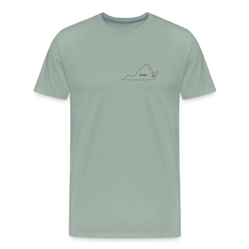 Home - Virginia. - Men's Premium T-Shirt