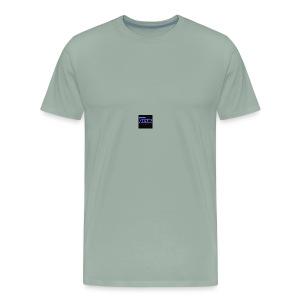Focus Steel Hoodie - Men's Premium T-Shirt