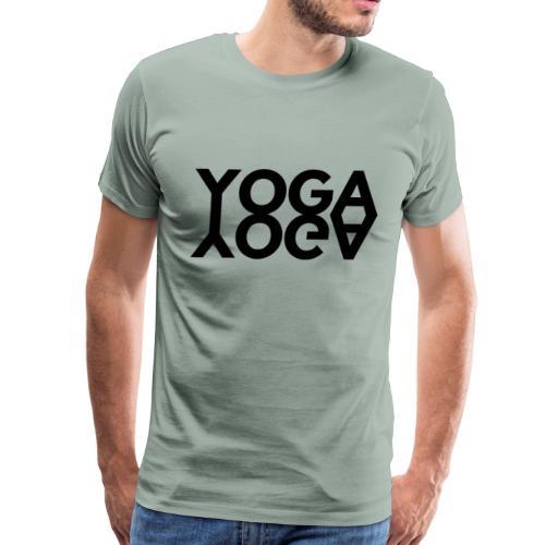 Yoga Twin - Men's Premium T-Shirt