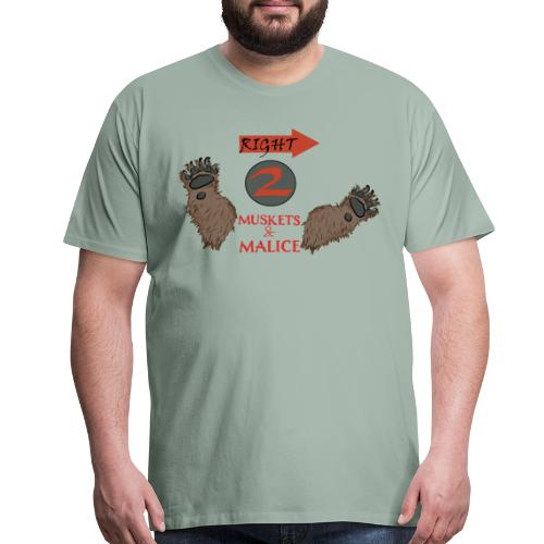 Right to Bear Arms 2 - Men's Premium T-Shirt