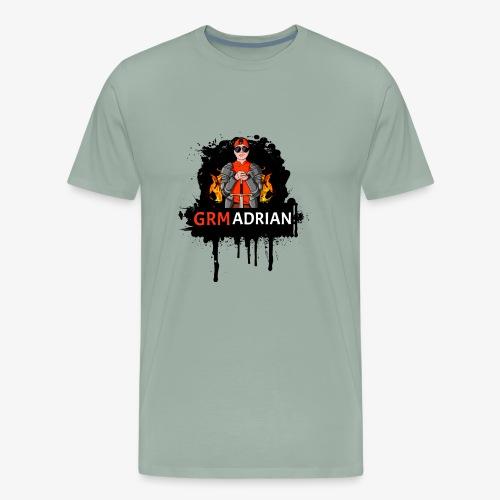 GRM Adrian Splash Logo - Men's Premium T-Shirt
