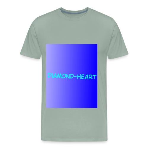DiamondHeartmerch2 - Men's Premium T-Shirt