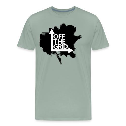 OFF THE GRID Grunge - Men's Premium T-Shirt