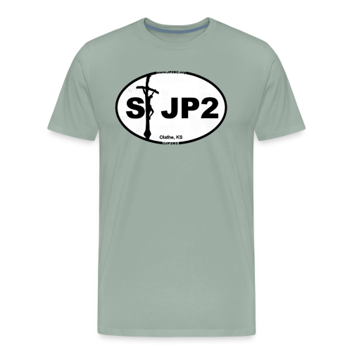 St JP2 Logo - Men's Premium T-Shirt